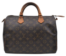6b8263de54cbc Second Hand Speedy Leinen handtaschen. Louis Vuitton