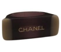 Second Hand Ring Kunststoff Braun