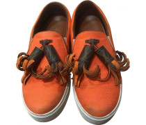 Second Hand Sneakers Veloursleder Orange