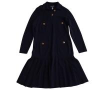 Second Hand Kleid Wolle Marine