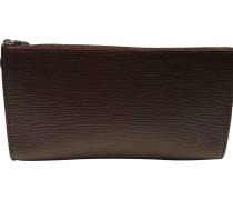 Second Hand Pochette Leder handtaschen
