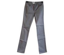 Second Hand Jeans Baumwolle Grau
