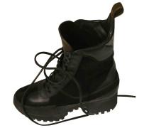 Second Hand Laureate Leder Geschnürt boots