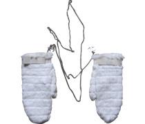 Second Hand Handschuhe Fell Weiß