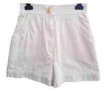 Second Hand Shorts Baumwolle Weiß