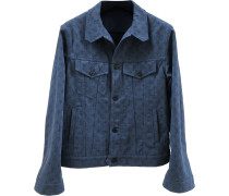 Second Hand Jacke.Blouson Denim - Jeans Blau