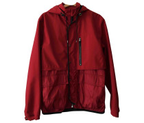 Second Hand Jacke.Blouson Polyester Rot