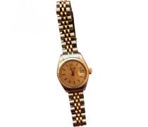 Second Hand Uhr Datejust Gold und Stahl Gold