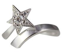 Second Hand Ring Weißgold Silber