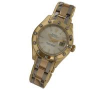 Second Hand Lady DateJust 28mm Gelbgold Uhren
