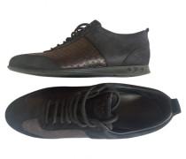 Second Hand Sneakers Lackleder Schwarz
