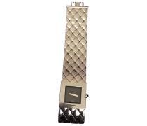 Second Hand Uhr Matelassé Stahl Silber