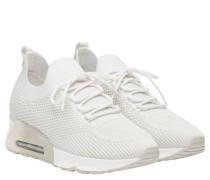 Sneaker aus Gummi in Weiß