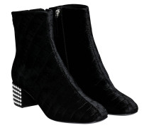 I770033 BOOTIE CROCO BLACK