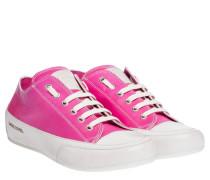 Sneaker aus Leder in Pink/Rosa/Violett