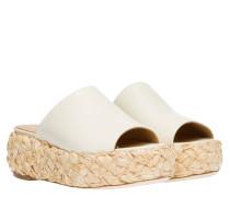 Sandalen aus Leder in Größe 41