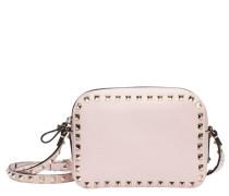 Handtasche aus Leder in Rosa