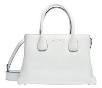 Handtasche aus Leder in Weiß