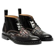Stiefel aus Leder in Mehrfarbig
