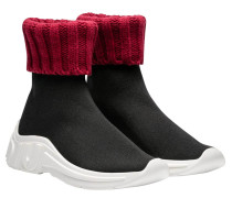 Sneaker aus Leder in Mehrfarbig