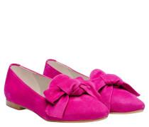 Loafer aus Leder in Fuchsia/Violett/Rosa