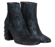 Stiefel aus Leder in Blau