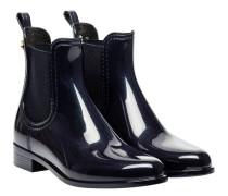 Stiefel aus Gummi in Grau/Blau