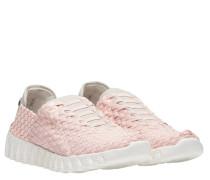 Sneaker aus Gummi in Rosa