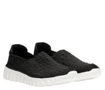 Sneaker aus Gummi in Schwarz