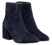 Stiefel aus Leder in Marine/Blau/Schwarz