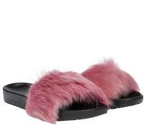 Slipper aus Gummi in Pink/Rosa/Violett