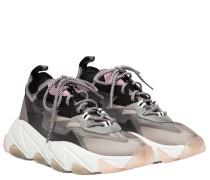 Sneaker aus Gummi in Grau