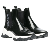 Stiefel aus Gummi in Schwarz