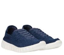 Sneaker aus Gummi in Blau