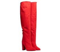 - aus Leder in Rot