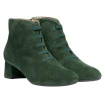 Stiefel aus Leder in Grün