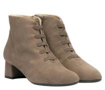 Stiefel aus Leder in Taupe/Schlamm/Braun/Grau