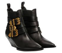 Stiefel aus Leder in Größe 40