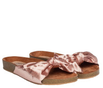 Sandalen aus Gummi in Rosa
