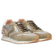 Sneaker aus Leder in hellGrün