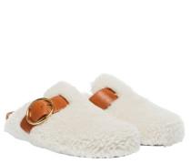 - aus Leder in Weiß