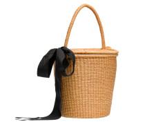 Handtasche ausin Cognac/Braun/Orange