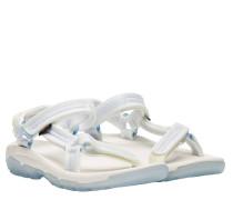 Sandalen aus Gummi in Weiß