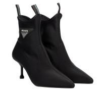 Stiefel aus Neopren in Schwarz