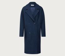 Mantel 'Hanne' blau