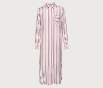 Kleid 'Savanna' rot/weiß
