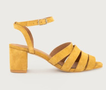Sandale  'Paulette' gelb