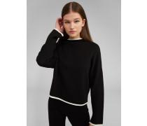 Pullover 'Darlin' schwarz