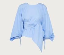 Bluse 'Lovey' blau