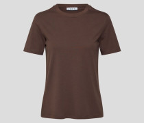 T-Shirt 'Leila' braun